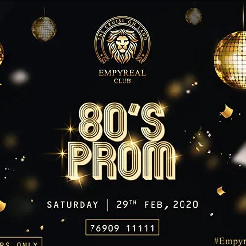 80's Prom Night